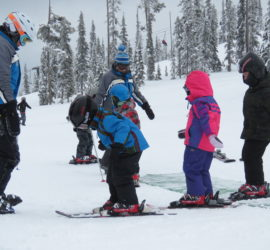 Image: Ski School Students